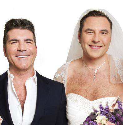 Cowell Weds Walliams For Charity Belfasttelegraph Co Uk