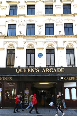 2m Facelift Will Restore Queen S Arcade To Its Victorian Splendour Belfasttelegraph Co Uk