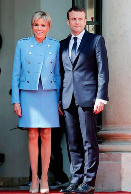 Mary Kenny On France S National Holiday The Focus Of The Country Will Be On Its President And His Very Special Wife Brigitte Belfasttelegraph Co Uk