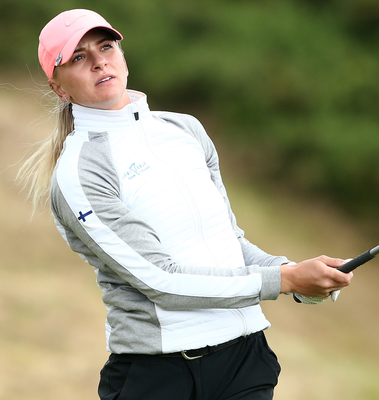 Women S Amateur Championship I M Getting Into The Groove Says