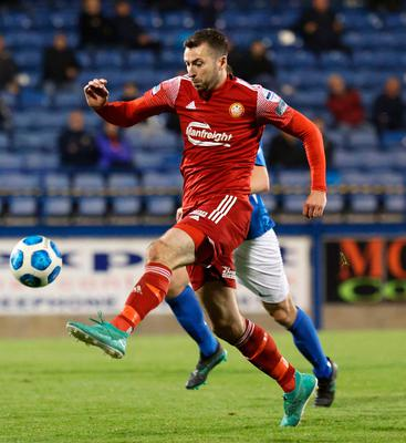 Stephen Murray hits the ground running to ensure derby delight for Portadown  on their return to the top flight - BelfastTelegraph.co.uk