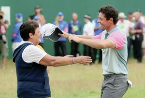 The Modest Shy And Very Proud Mum Who Gave Rory Mcilroy His Drive Belfasttelegraph Co Uk
